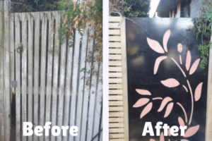 Property Maintenance - Gate Before-After